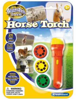 BRAINSTORM E2022 HORSE TORCH AND PROJECTOR