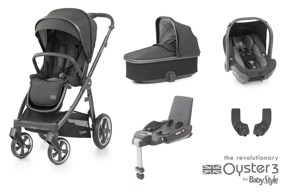 Oyster 3 Essential Travel System In Pepper