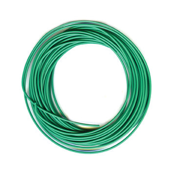 PECO PL-38 G ELECTRICAL WIRE  GREEN  3 AMP  16 STRAND PECO LECTRICS  FOR PECO SETRACK AND PECO STREAMLINE  ALL GAUGES