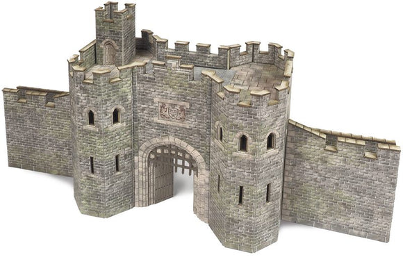 METCALFE PO291 00/H0 SCALE CASTLE GATE HOUSE