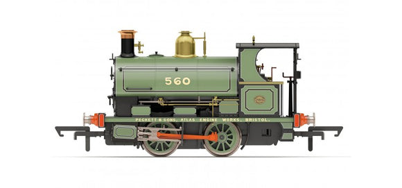 Hornby R3615 Peckett Works Livery No.560/1893 0-4-0ST - Era 2