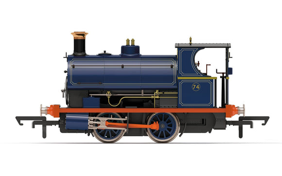 Hornby R3679 Port of London Authority, Peckett W4 Class, 0-4-0ST, No. 74 - Era 3/4