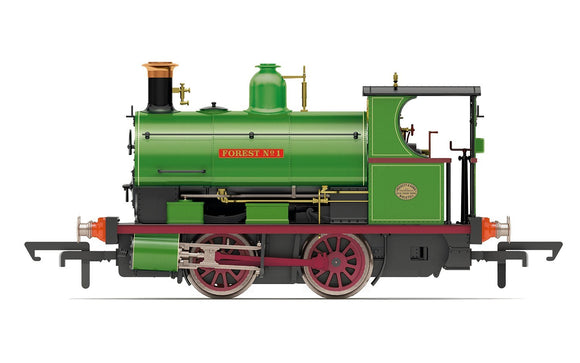 Hornby R3680 Charity Colliery, Peckett W4 Class, 0-4-0ST, 'Forest No. 1' - Era 2