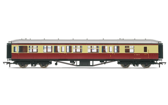 Hornby R4408B BR  63' Hawksworth Brake Composite  W7858W - Era 4