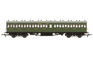 Hornby R4720A SR  58' Maunsell Rebuilt (Ex-LSWR 48')  Nine Compartment Third  364 - Era 3