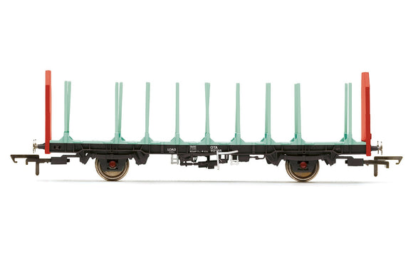 Hornby R6847 OTA Timber Wagon (Parallel Stanchions)  EWS 112188- Era 9