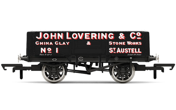 Hornby R6869 5 Plank Wagon  'John Lovering & Co.' No.1 - Era 2