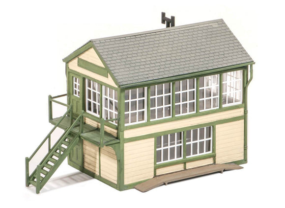 PECO WILLS KITS SS48 TIMBER SIGNAL BOX