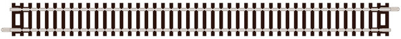 PECO ST-11 DOUBLE STRAIGHT 174MM LONG N GAUGE SETRACK CODE 80 STRAIGHT TRACK WOODEN SLEEPER TYPE  NICKEL SILVER RAIL