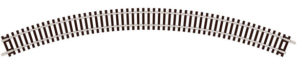 PECO ST-15 NO.2 RADIUS DOUBLE CURVE 263.5MM (10?IN)  N GAUGE SETRACK CODE 80 CURVED TRACK WOODEN SLEEPER TYPE  NICKEL SILVER RAIL