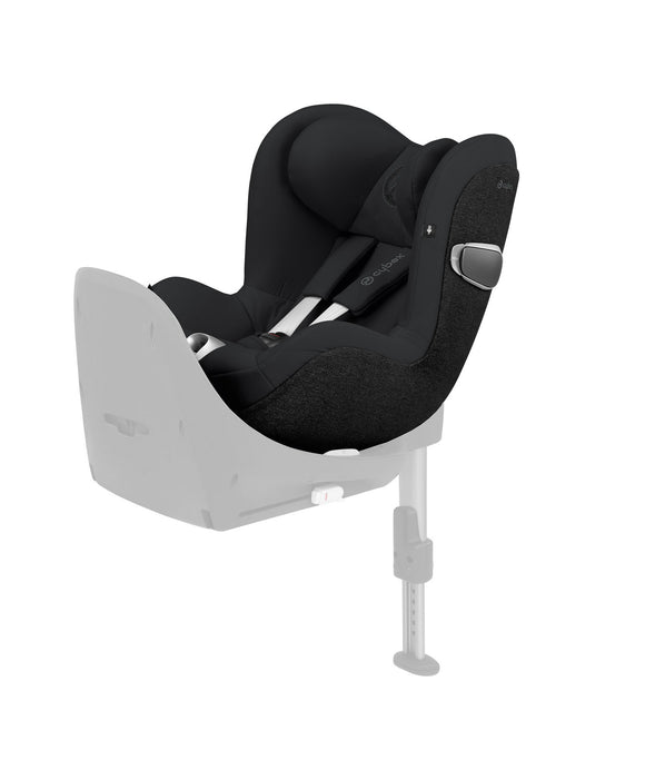 Cybex Sirona Z isize Car Seat Deep Black (fits Cybex Z Base)
