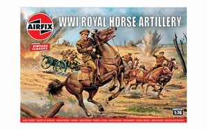 Airfix A00731V WWI Royal House Artillery 1:76 Scale