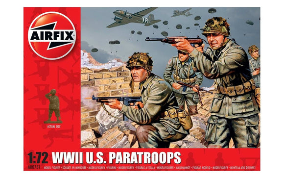 Airfix A00751 WWII US Paratroops  1:76 Scale