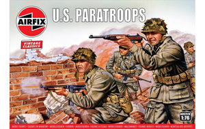 Airfix A00751V WWII US Paratroops 1:76 Scale