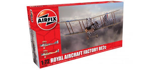 Airfix A02104 Royal Aircraft Factory BE2c Scout  1:72 Scale