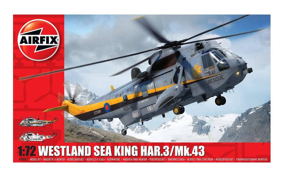 Airfix A04063 Westland Sea King HAR.3/Mk.43 1:72 Scale