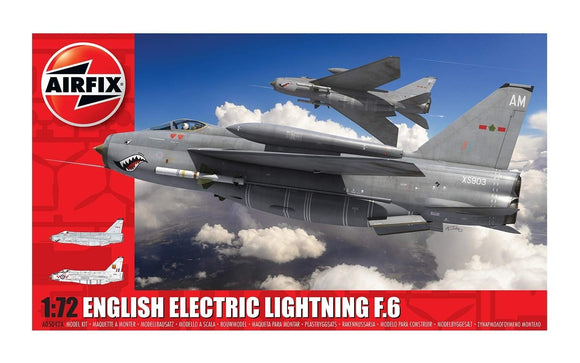 Airfix A05042A English Electric Lightning F6 1:72 Scale