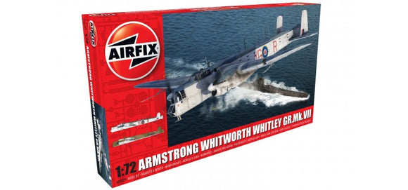 Airfix A09009 Armstrong Whitworth Whitley Mk.VII  1:72 Scale