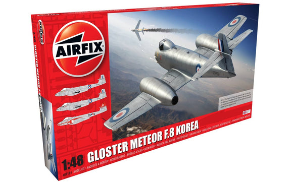 Airfix A09184 Gloster Meteor F.8 Korea 1:48 Scale