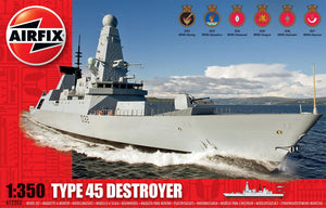 Airfix A12203 Type 45 Destroyer 1:350 Scale