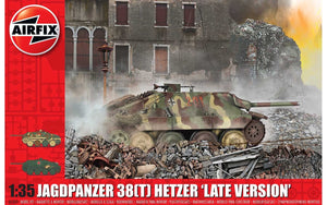 Airfix A1353 JagdPanzer 38 tonne Hetzer, Late Version 1:35 Scale