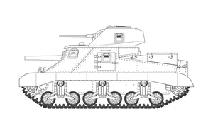 Airfix A1370 M3 Lee / Grant 1:35 Scale