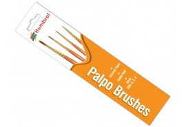Humbrol AG4250	Brush Pack - Palpo 000, 0, 2, 4