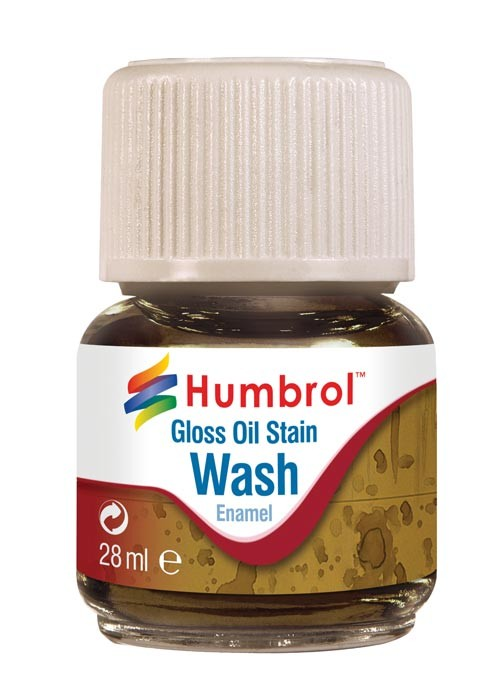 Humbrol AV0209 28ml Enamel Wash Oil Stain