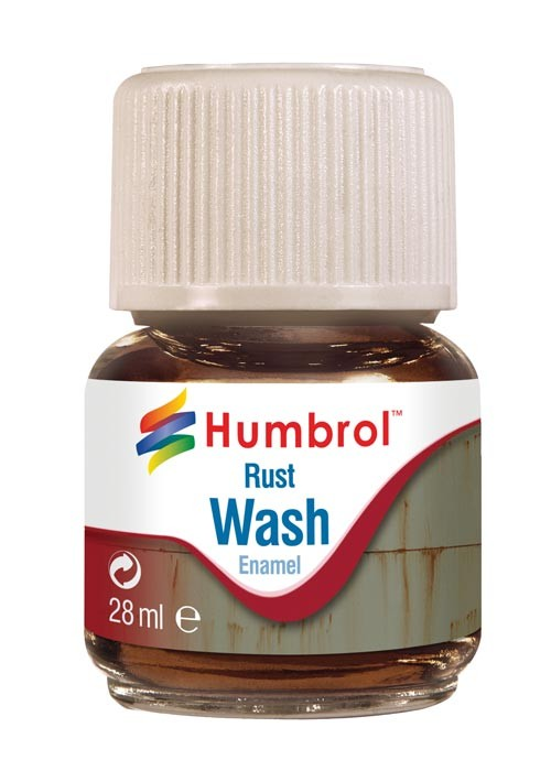 Humbrol AV0210 28ml Enamel Wash Rust