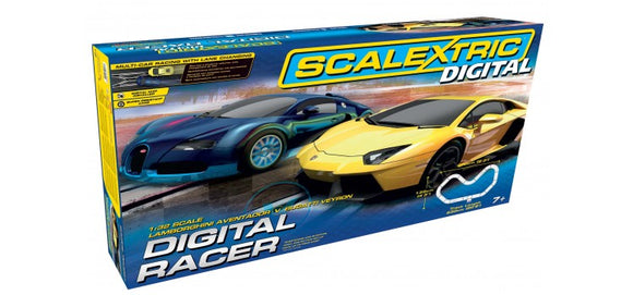 SCALEXTRIC SET C1327 DIGITAL RACER