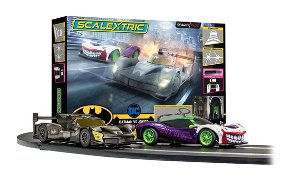 SCALEXTRIC SET C1451M BATMAN VS JOKER SET