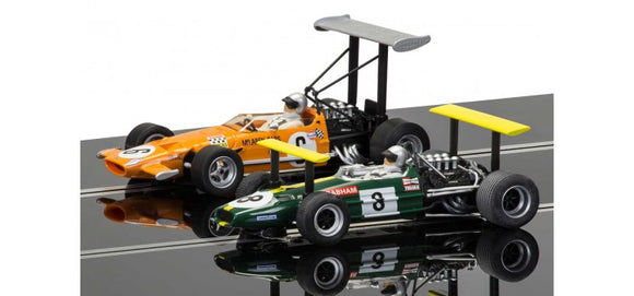 SCALEXTRIC CAR C3589A MCLAREN M7C VS BRABHAM BT26A LTD