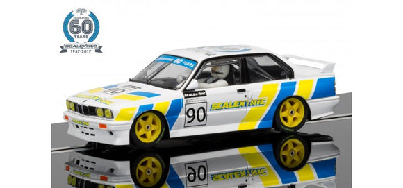 SCALEXTRIC CAR C3829A BMW M3 3 OF 7 CELEBRATING 60 YEARS