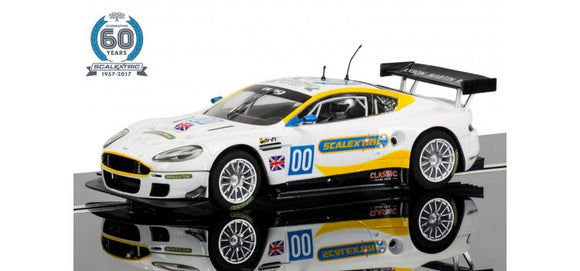 SCALEXTRIC CAR C3830A ASTON MARTIN DBR9 2 OF 7 CELEBRATING 60 YEARS