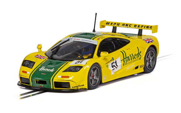 SCALEXTRIC CAR C4026 MCLAREN F1 GTR NO51 HARRODS