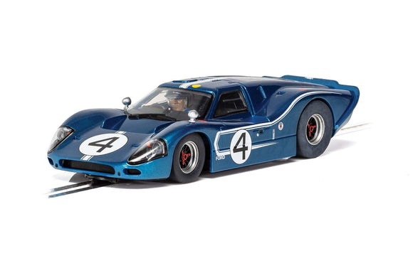 SCALEXTRIC CAR C4031 FORD GT MK IV - 1967 LEMANS 24HRS - DENNY HULME/LLOYD RUBY NO.4