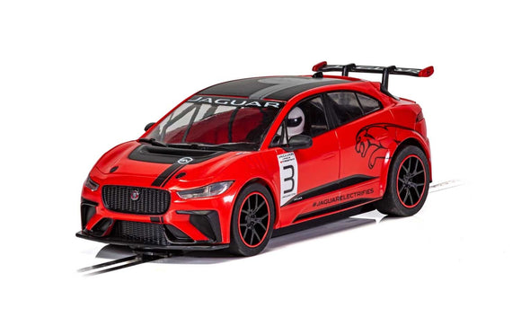 SCALEXTRIC CAR C4042 JAGUAR I PACE ETROPHY NO3