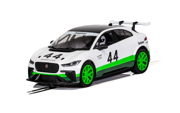 SCALEXTRIC CAR C4064 JAGUAR I PACE HERITAGE EDITION NO44