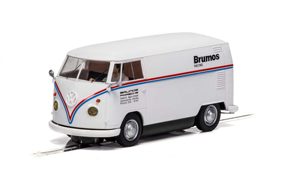 SCALEXTRIC CAR C4086 VW PANEL VAN BRUMOS RACING