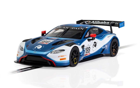 SCALEXTRIC CAR C4100 ASTON MARTIN VANTAGE GT3 GARAGE 59 2019 NO 188