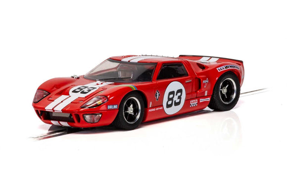 SCALEXTRIC CAR C4152 FORD GT 40 RED NO 83