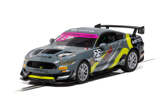 SCALEXTRIC CAR C4182 FORD MUSTANG GT 4 2019 BRITISH GT CHAMPIONSHIP NO 23