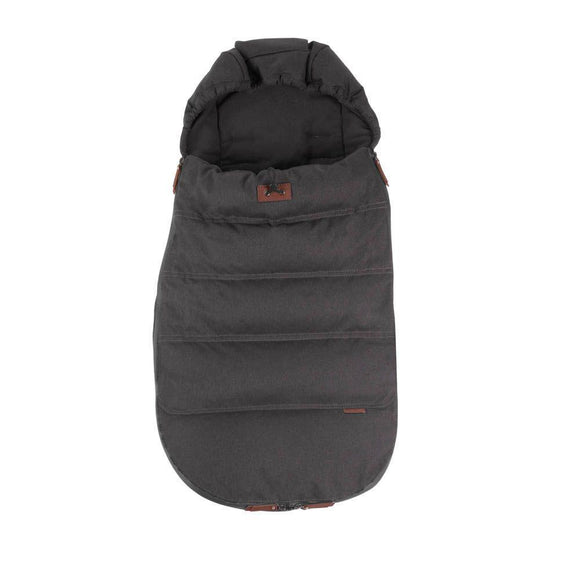 Silver Cross Wave Footmuff in Charcoal