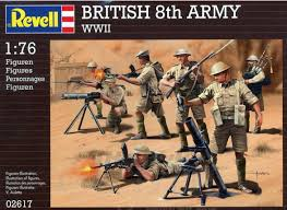 REVELL 02617 BRITISH 8TH ARMY  1/76 SCALE