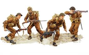 DRAGON 6212 BRITISH INFANTRY NORMANDY 1944 1/35 SCALE