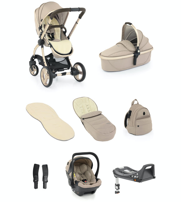 Egg 2 Travel System Bundle in Feather