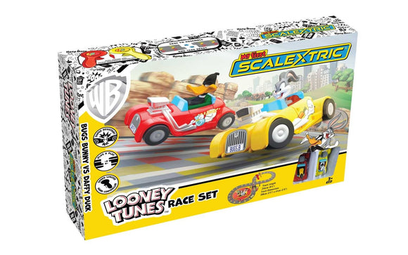 MICRO SCALEXTRIC SET G1140 LOONEY TUNES RACE SET