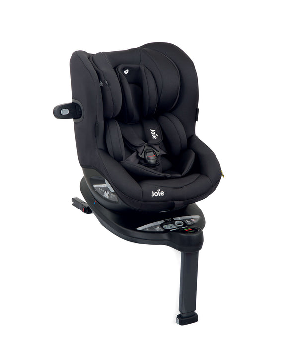 Joie ispin 360 spin car seat in Coal