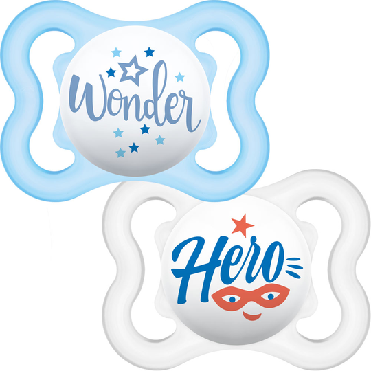 MAM Air Soother 2 pack 0m+Blue Hero