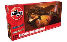 Airfix A09186 Bristol Blenheim Mk.IF  1:48 Scale